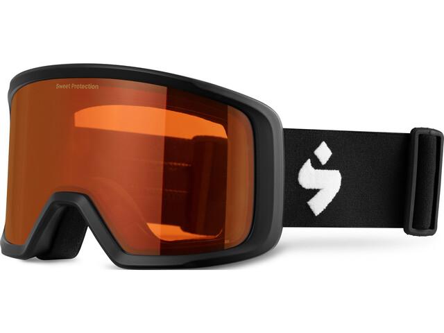 Sweet Protection Firewall Goggles Heren, zwart/oranje